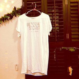 Victoria Secret White Night Gown.